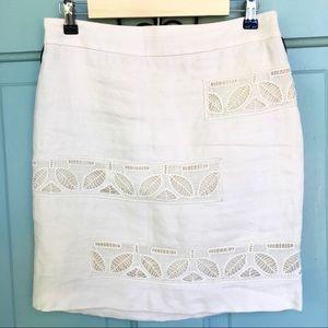 Anthropologie Moulinette Soeurs Linen Skirt